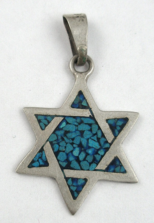Jewish Jewelry - Mexican Star of David Pendant
