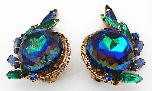 Newly Added DeLizza and Elster Blue Watermelon Earrings