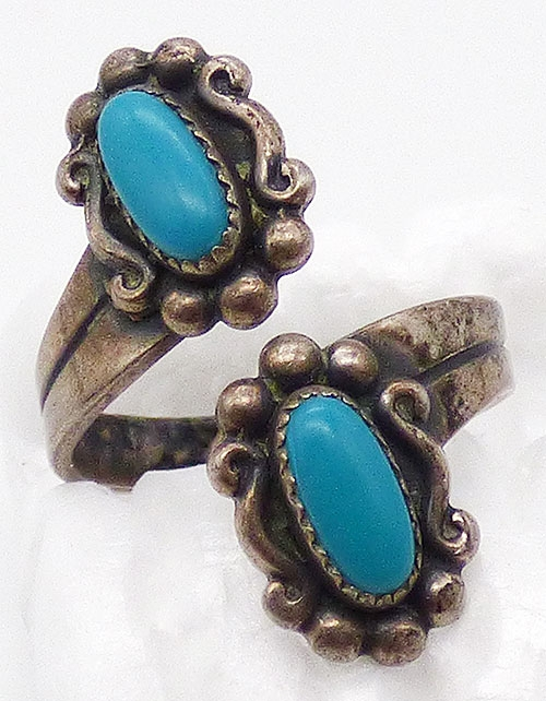 Newly Added Bell Trading Post Turquoise Bypass Ring