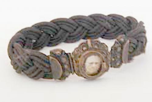 Victorian - Mouning Hair Bracelet