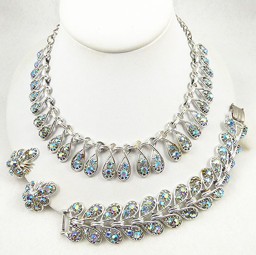 Newly Added Art Aurora Rhinestone Parure