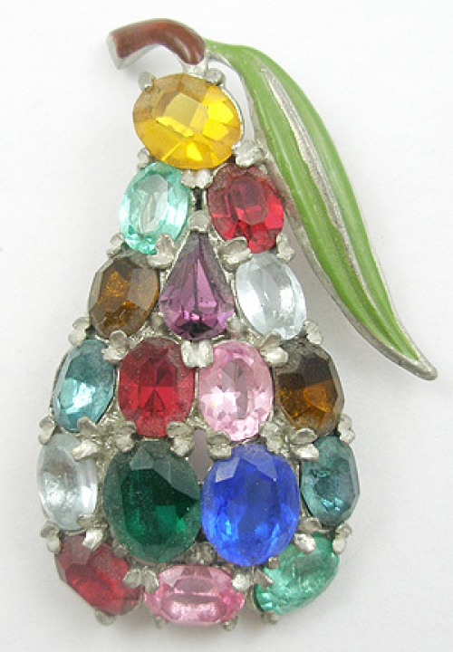 Fruits & Vegetables - Pear Fur Clip
