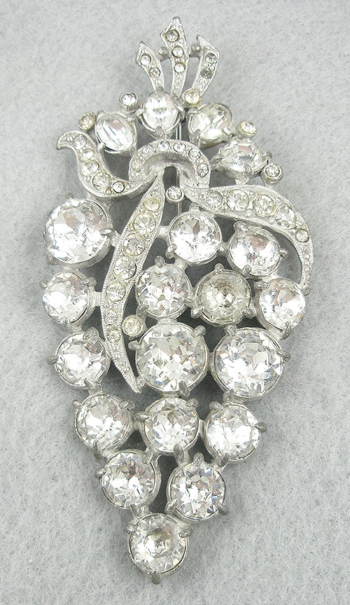 Newly Added Staret Rhinestone Brooch