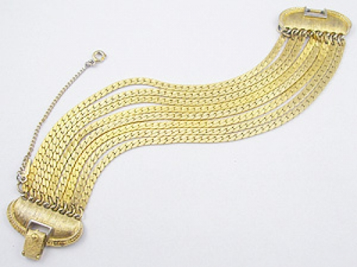 Bracelets - Monet Gold Chains Bracelet
