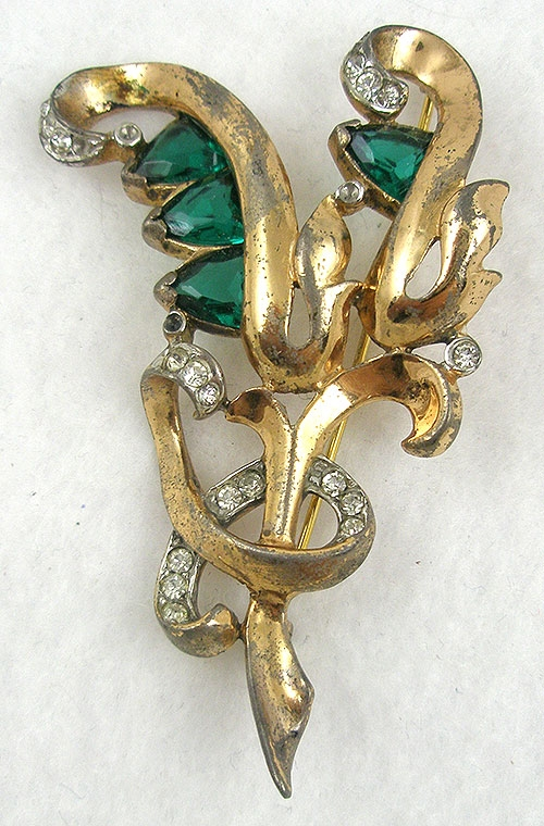 Newly Added Reja Sterling Floral Brooch