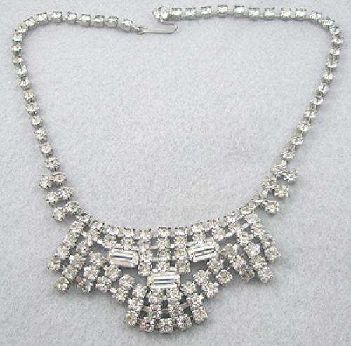Bridal, Wedding, Special Occasion - Crystal Rhinestone Necklace