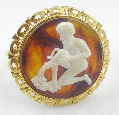 Zodiac - Aquarius Clamper Bracelet