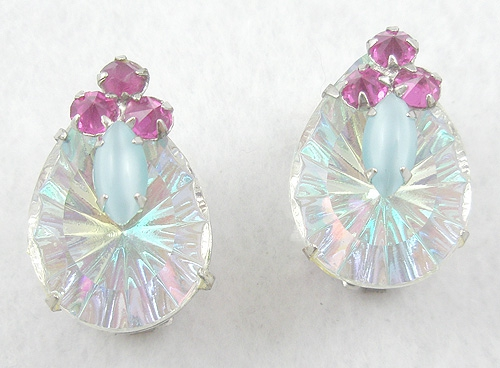 Newly Added Schreiner Prism Teardrop Earrings