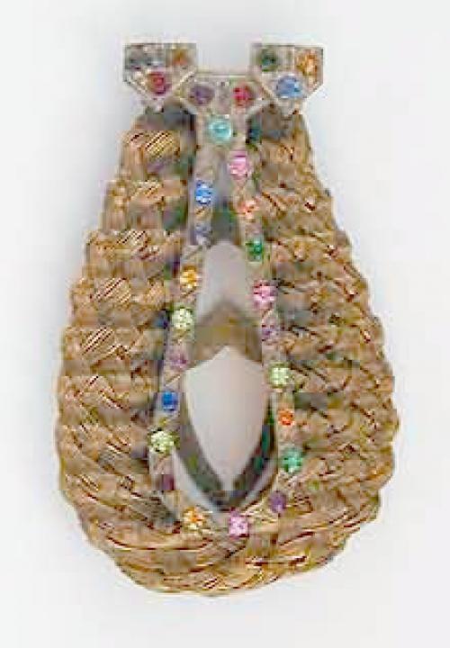 Reinad - Reinad Woven Dress Clip