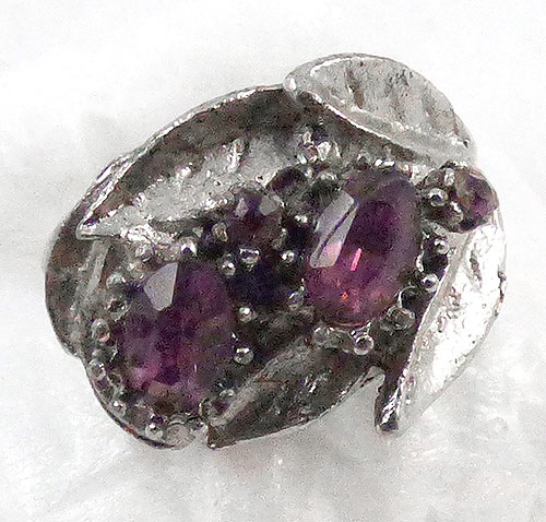 Vogue - Vogue Amethyst Rhinestone Ring