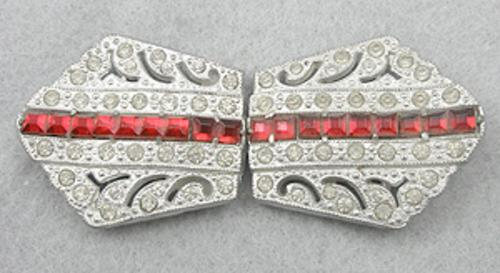 Newly Added Art Deco Rhinestone Buckle