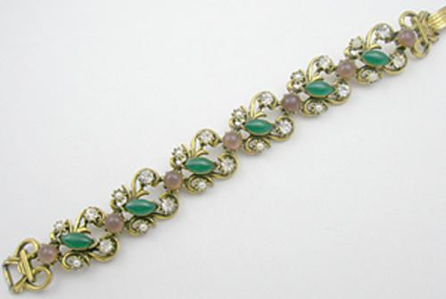 Newly Added Florenza Jade Glass Bracelet