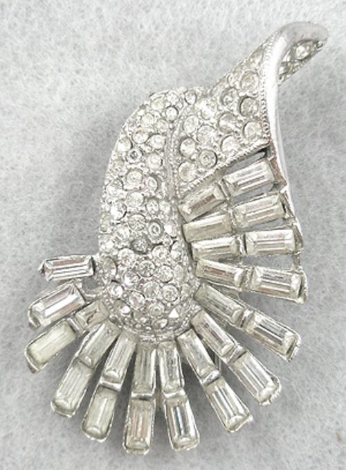 Newly Added Boucher Rhinestone Fur Clip