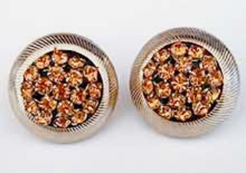 Newly Added Sandor Topaz Rhinestone Earrings