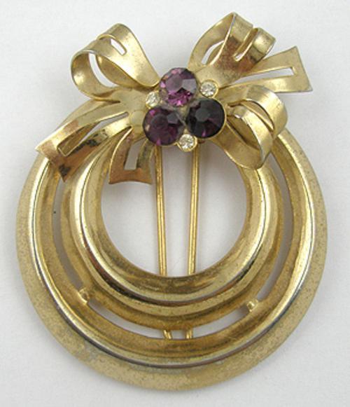 Coro/Corocraft - Coro Wreath Fur Clip
