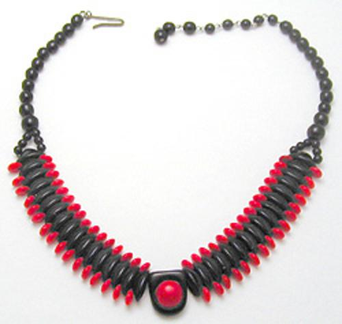 Necklaces - Western Germany Glass Bead Necklace