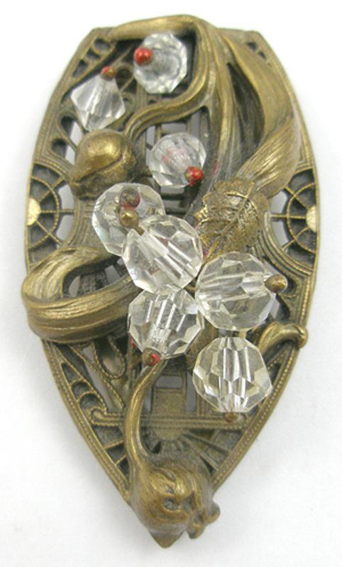 Art Nouveau - Art Nouveau Dress Clip