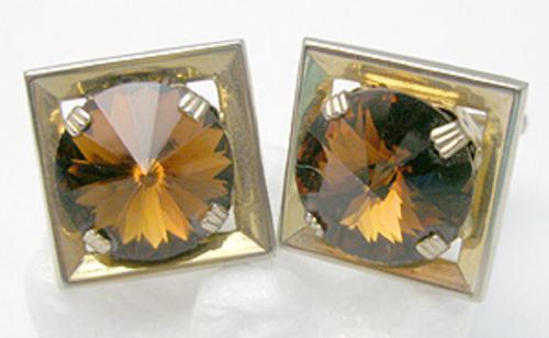 Men's Jewelry - Topaz Rivoli Cuff Links