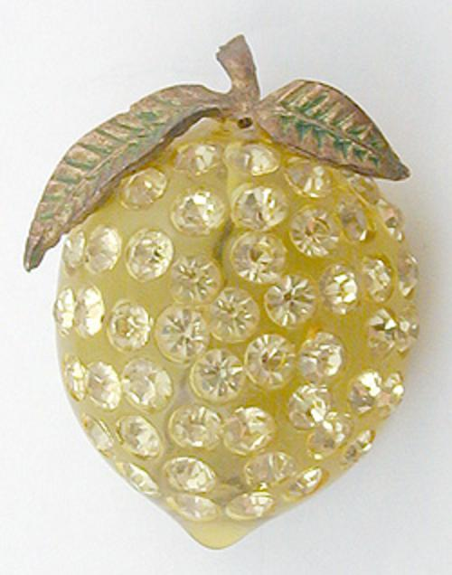 Fruits & Vegetables - Forbidden Fruit Lemon Brooch