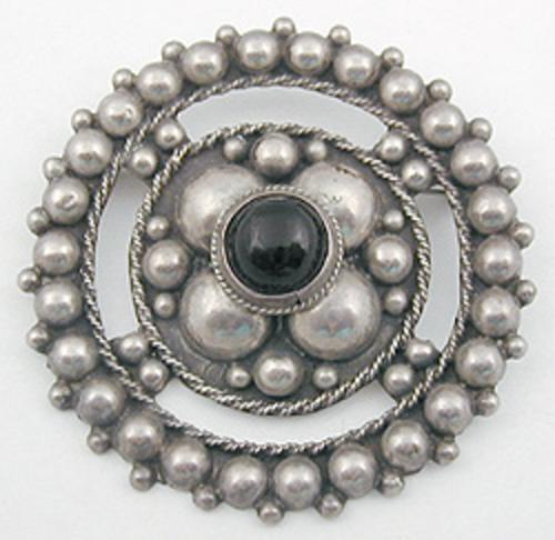 Brooches - Mexico Sterling Brooch