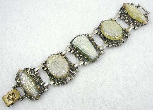 Selro/Selini - Selro White Confetti Lucite Bracelet