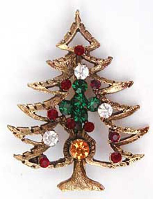 Newly Added Christmas Tree Brooch