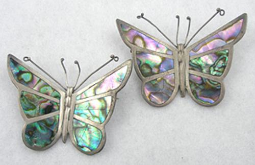 Newly Added Los Ballesteros Butterfly Brooches