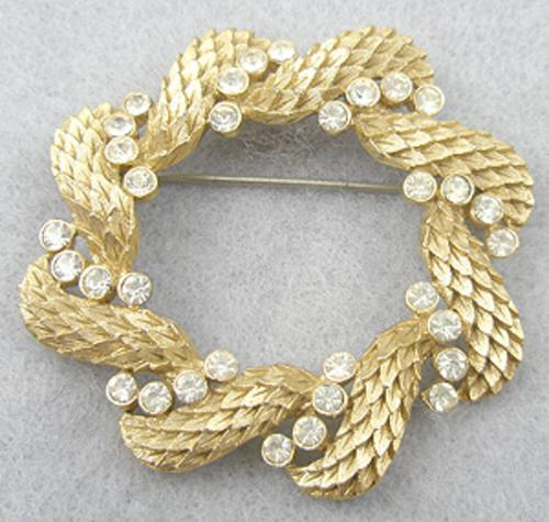 Newly Added Trifari Wreath Brooch