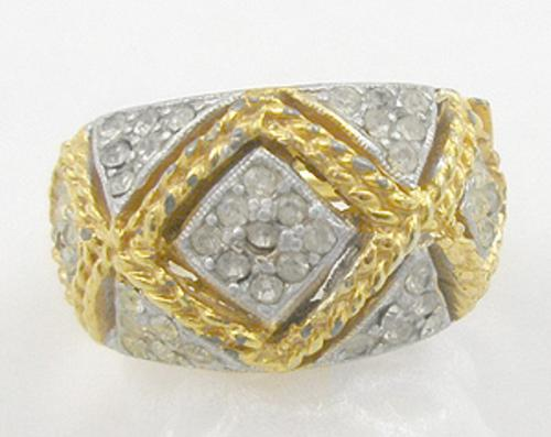 End of Year Sale! 30-50% OFF - Pavé Rhinestone Ring
