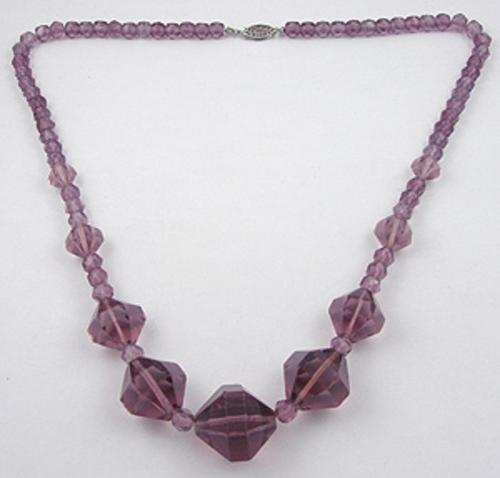 Necklaces - Amethyst Crystal Beads Necklace