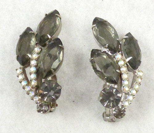 Earrings - DeLizza & Elster Black Diamond Earrings