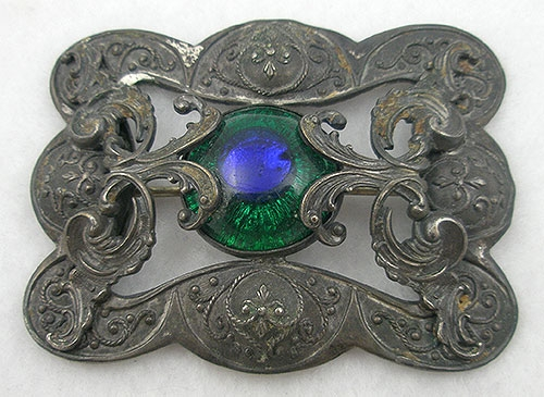 Newly Added Peacock Eye Sash Pin