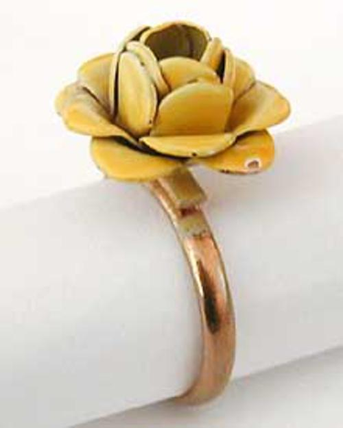 Rings - Yellow Rose Ring