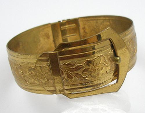 Newly Added Art Deco Buckle Bracelet
