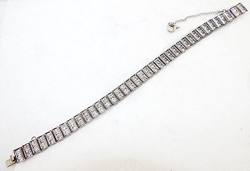 Newly Added Catamore Sterling Rhinestone Bracelet