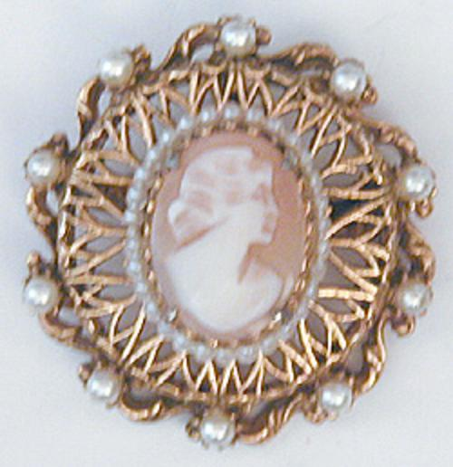 Brooches - Florenza Cameo Brooch