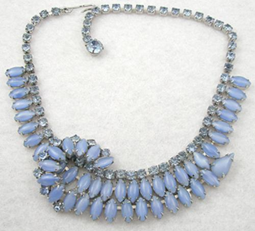 Weiss - Weiss Blue Glass Moonstone Necklace