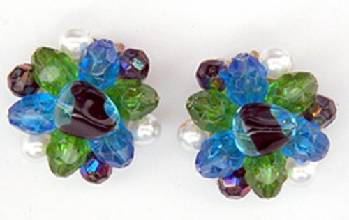 Newly Added West Germany Bead Earrings