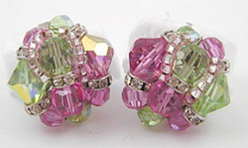 Newly Added Vendome Crystal Bead Earrings