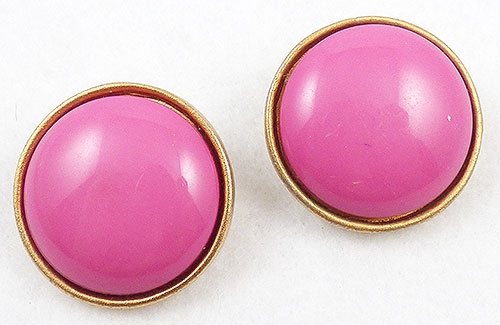 Les Bernard - Les Bernard Pink Earrings