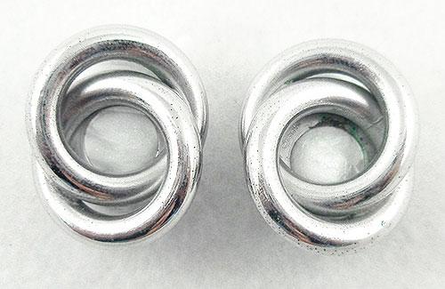 Napier - Napier Silver Tone Rings Earrings