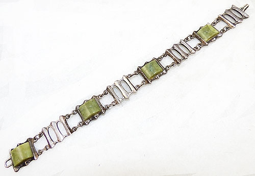 Semi-Precious Gems - The Jewellery House Dublin Silver Agate Bracelet