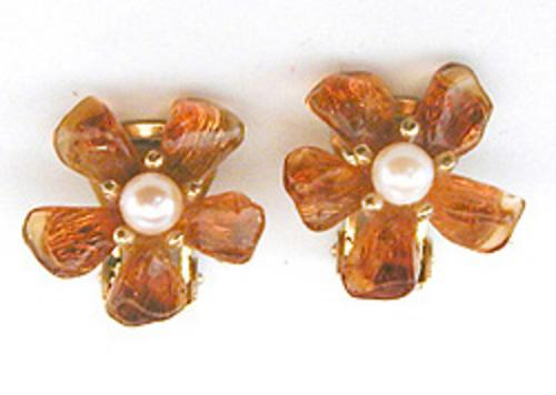 Newly Added Swoboda Citrine Flower Earrings