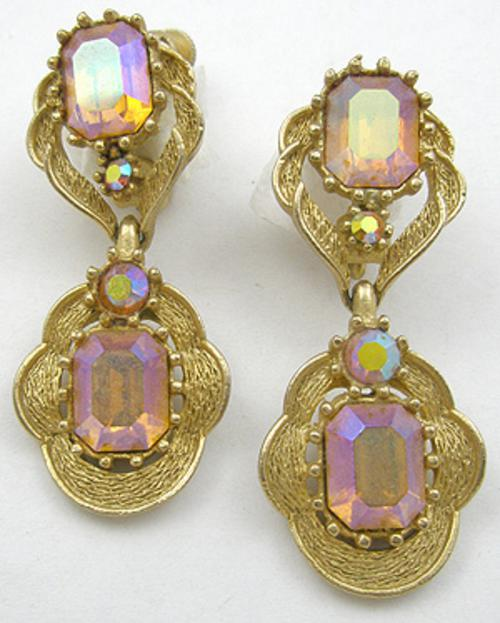 Newly Added Coro Topaz Aurora Earrings