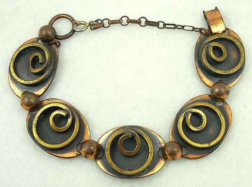 Newly Added Rebajes Copper & Brass Bracelet