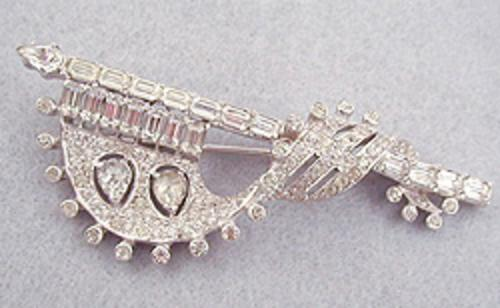 Brooches - Mazer Bros Banner Brooch