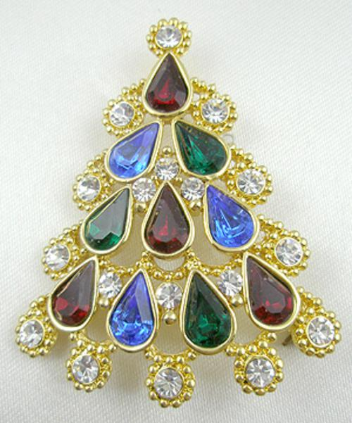 Newly Added Radko Christmas Tree Brooch