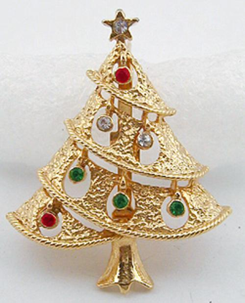 End of Year Sale! 30-50% OFF - Christmas Tree Brooch