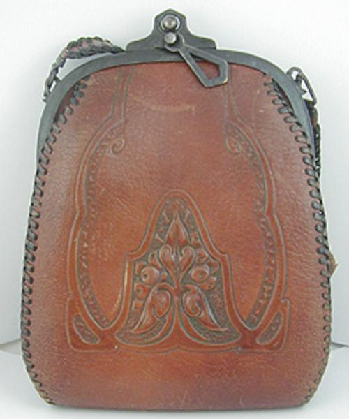 Purses - Arts & Crafts Leather Purse