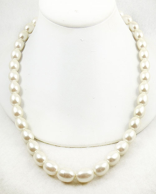 Newly Added Anne Klein Simulated Pearl Necklace